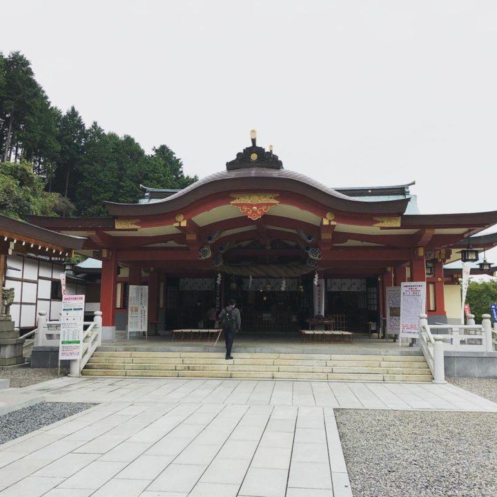 石鎚神社の本殿