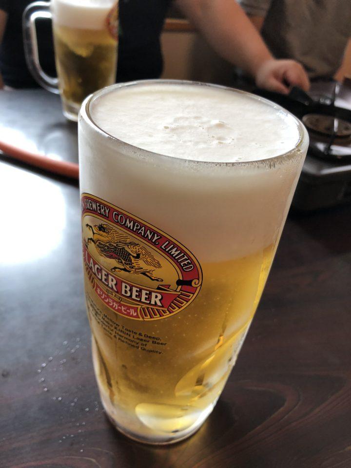 ラガービール大