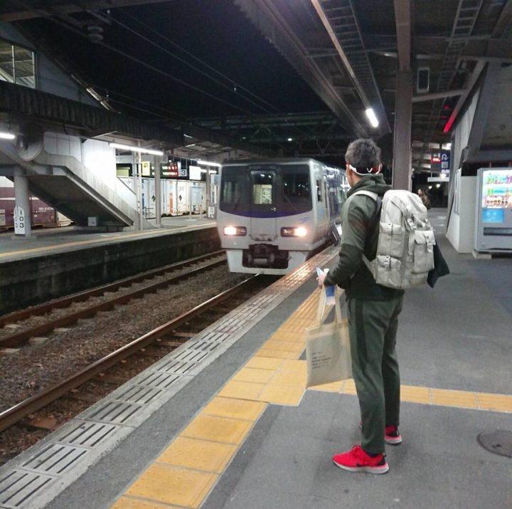 岡山へ出発
